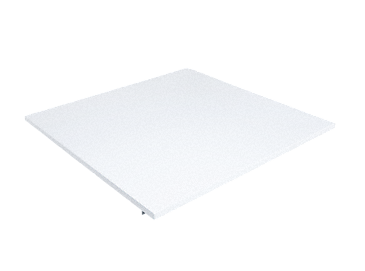 DEF-80 - Appliance lid for built-under appliances.--white casing