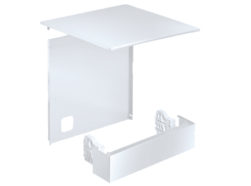 Stand 1-80 - Conversion kit For converting a built-under appliance to a free-standing appliance.--white casing