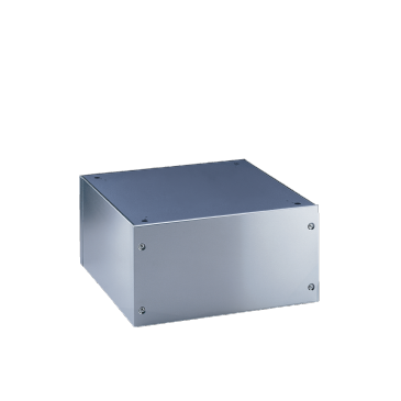 UG 6008 - Closed plinth For ergonomic loading and unloading of the washing machine and dryer.--Stainless steel