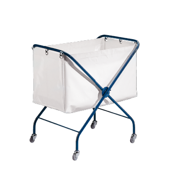 SW - Laundry bag trolley Foldable for storage in the smallest of spaces.--Octoblue