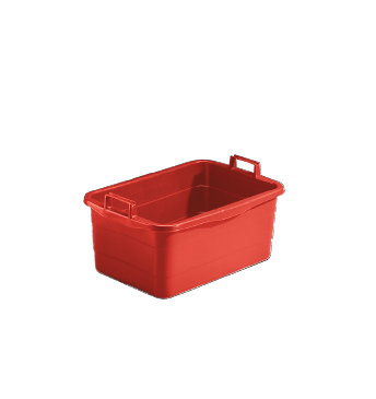 WW 45 R - Laundry tub, red with 45l capacity.--NO_COLOR