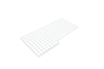 E 11 - Perforated tray inlay 1/2 for upper baskets For the gentle cleaning of delicate wash items.--NO_COLOR