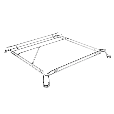 KT 500 - Basket carrier, stainless steel For baskets with external dimensions of up to 50 x 50 cm.--NO_COLOR