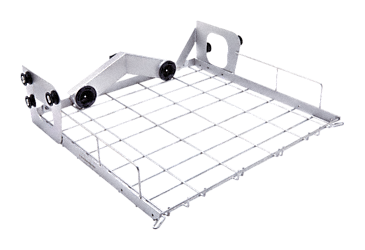A 100 - Upper basket For the optimum loading of injector modules or inserts.--stainless steel exterior