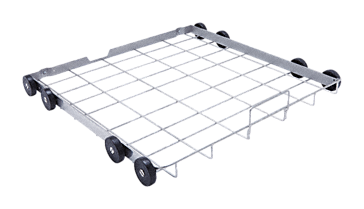 A 151 - Lower basket For holding standard DIN mesh trays as well as various inserts.--stainless steel exterior