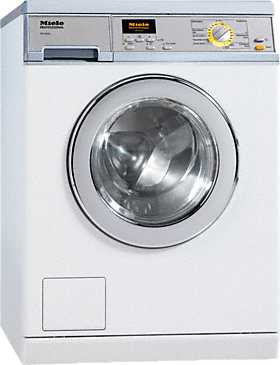PW 5062 [EL LP 1N AC 220-240V 50Hz] - Washing machine, electrically heated with the shortest cycle of 49 minutes for a high throughput of laundry.--Lotus white