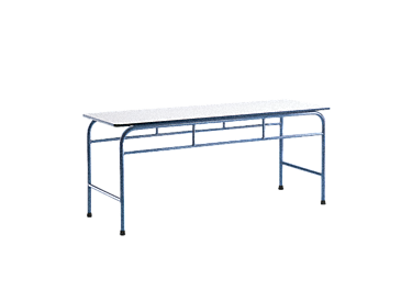 MT 2 - Ironing table, 200 cm wide - fixed for optimum stability.--Octoblue
