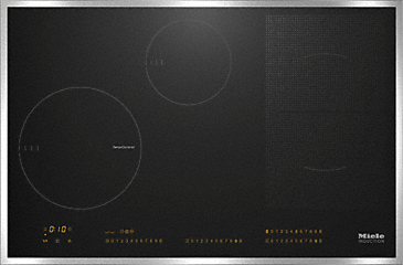 KM 6629 - Induction hob with onset controls with TempControl for intelligent & easy frying--NO_COLOR