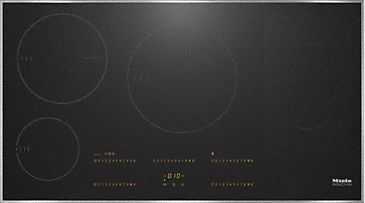 KM 6669 - Induction hob with onset controls with TempControl for intelligent & easy frying--NO_COLOR