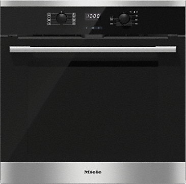 H 2561 BP - Oven with pyrolytic cleaning for easy maintenance.--Stainless steel/CleanSteel