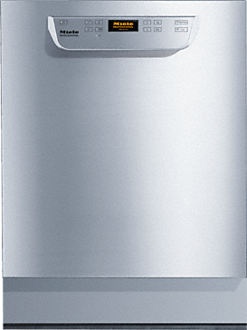 PG 8059 U [MK HYGIENE MAR] - Built-under fresh-water dishwasher with baskets, specially designed for marine requirements.--Stainless steel