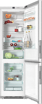 KFN 29233 D bb - XL freestanding fridge freezer in exclusive Blackboard edition with DailyFresh and Frost free.--