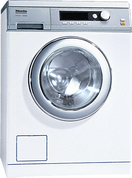 PW 6055 Vario [EL LP 1N AC 220-240V 50Hz 25A] - Washing machine, electrically heated with the shortest cycle of 49 minutes, model with drain pump.--Lotus white