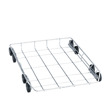 U 800 - Lower basket for the optimum loading of different inserts.--stainless steel exterior