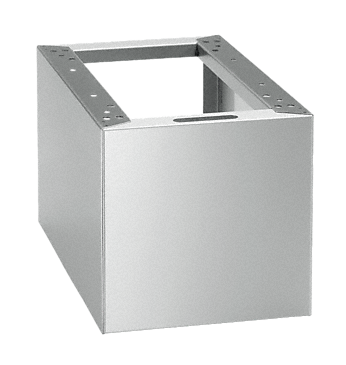 UE 30-30/60-78 - Closed plinth to raise the side unit, 60 cm deep, 30 cm wide.--stainless steel exterior