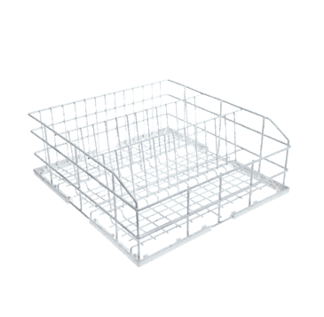 U 423 - Basket, rilsan-coated for the optimum loading of a variety of glassware.--NO_COLOR