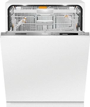 G 6997 SCVi XXL K2O - Fully integrated dishwasher XXL – the Miele all-rounder for handleless kitchen designs.--Stainless steel/CleanSteel