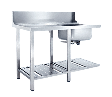 T 1200-1 BUL - Additional table With sink for installation to the left-hand side of the dishwasher.--NO_COLOR