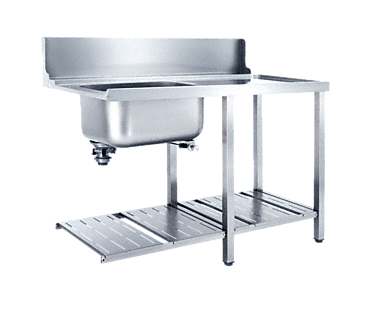T 1200-1 BUR - Additional table With sink for installation to the right-hand side of the dishwasher.--NO_COLOR