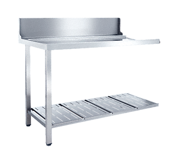 T 1200-1 UL - Universal table Without sink for installation to the left-hand side of the dishwasher.--NO_COLOR