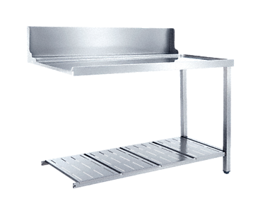 T 1200-1 UR - Universal table Without sink for installation to the right-hand side of the dishwasher.--NO_COLOR