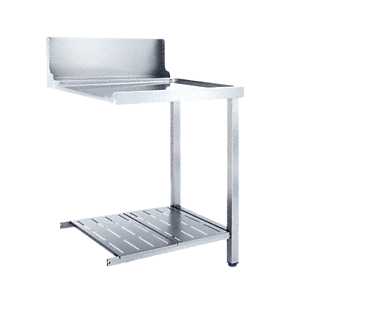 T 625-1 UR - Universal table Without sink for installation to the right-hand side of the dishwasher.--NO_COLOR