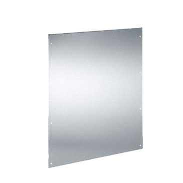 CN-RW 8166 - Stainless steel rear panel to reach the splash guard class IPX5.--NO_COLOR