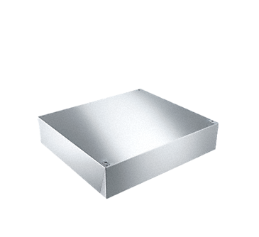 UG 13,5-60 - Stainless steel base, closed with a height of 135 mm.--NO_COLOR