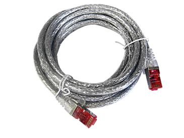 APH 406 - Network cable for connection to the network, length 3 m (type 6).--Silver