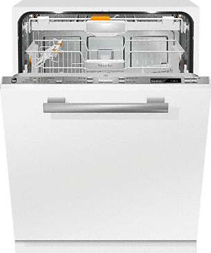 G 6860 SCVi - Fully integrated dishwashers with A+++ -20% thanks to the EcoTech heat exchanger.--Stainless steel/CleanSteel