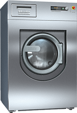 PW 818 [EL WEK MF] - Washing machine, electrically heated With liquid dispensing module & powder detergent dispenser, freely programmable.--Stainless steel