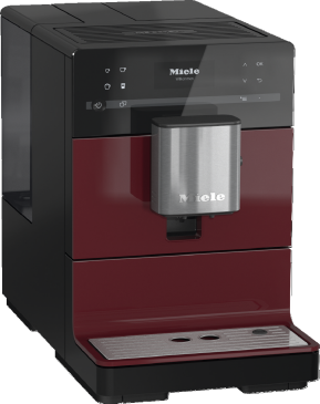 CM 5300 - Countertop coffee machine with OneTouch for Two for perfect coffee enjoyment.--Tayberry red