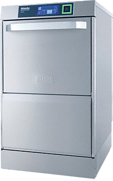 PG 8164 [RO BRILLIANT compact] - Tank dishwasher only 46 cm wide, with integrated reverse osmosis system - the glassware specialist.--stainless steel exterior