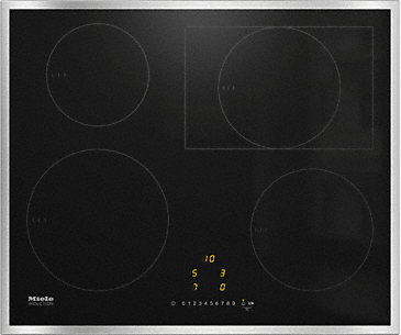 KM 7262 FR - Induction hob with onset controls with cooking/extended zone at an attractive entry-level price--NO_COLOR