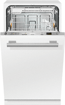 G 4680 SCVi Active - Fully integrated dishwashers with delay start and cutlery tray for maximum convenience.--Stainless steel/CleanSteel