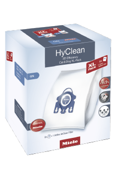 SB SET GN+AA HyClean XL-Pack - Cat & Dog XL pack HyClean 3D efficiency dustbag GN Buy eight dustbags and an Active AirClean filter at a discount price--NO_COLOR