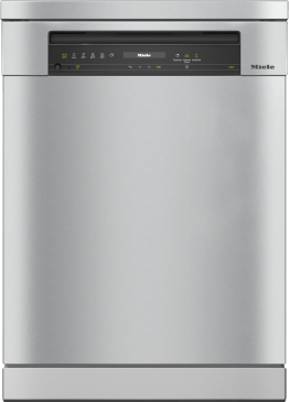 G 7310 SC AutoDos - Freestanding dishwashers with automatic dispensing thanks to AutoDos with integrated PowerDisk.--Stainless steel/CleanSteel
