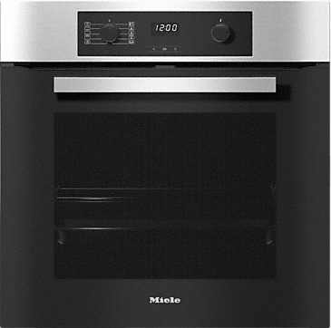 H 2267-1 BP ACTIVE - Oven with a timer, pyrolytic cleaning & FlexiClip runners. --Stainless steel/CleanSteel