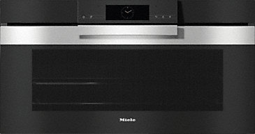 H 7890 BP - 90 cm wide oven seamless design with food probe and BrilliantLight.--Stainless steel/CleanSteel
