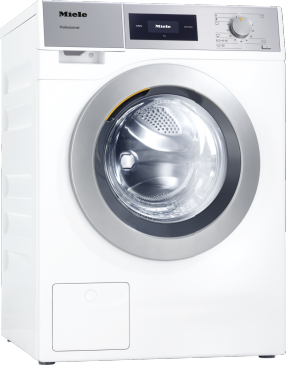 PWM 507 [EL DP] - Professional washing machine, Little Giants, EL heated, with drain pump and target group specific programmes. Capacity 7.0kg in 59min.--Lotus white
