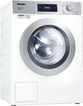 PWM 507 Hygiene [EL DV] - Professional washing machine, Little Giants, EL heated, with drain valve and disinfection programmes. Capacity 7.0 kg in 49 minutes.--Lotus white