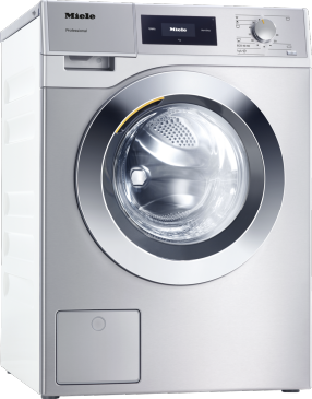 PWM 507 [EL DP] - Professional washing machine, Little Giants, EL heated, with drain pump and target group specific programmes. Capacity 7.0kg in 59min.--Stainless steel