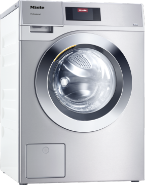 PWM 908 [EL DP MAR 3 AC 400-480V 50-60Hz] - Professional washing machine, Little Giants, EL heated, with drain pump Lloyd's Register approved, load capacity 8.0 kg.--Stainless steel