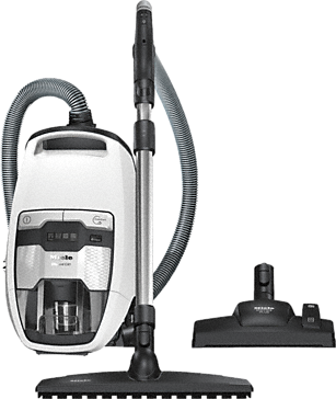 Blizzard CX1 Comfort PowerLine - SKMF3 - Bagless cylinder vacuum cleaners with wireless handle controls for especially convenient operation.--Lotus white