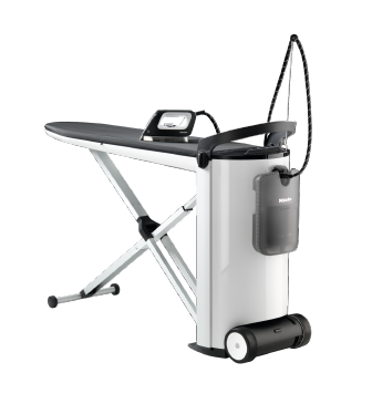 PIB 100 [EL] - Professional steam ironing system  With large water container for prolonged ironing time and the perfect results. --Lotus white