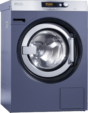 PW 5105 Vario [EL AV] - Washing machine, electrically heated with suspended drum unit, shortest cycle time of 53min and drain valve.--Octoblue