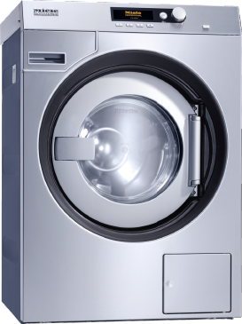 PW 6080 Vario XL [EL LP 1N AC 230V 50Hz] - Washing machine, electrically heated with suspended drum unit, shortest cycle time of 53 min and drain pump.--Stainless steel