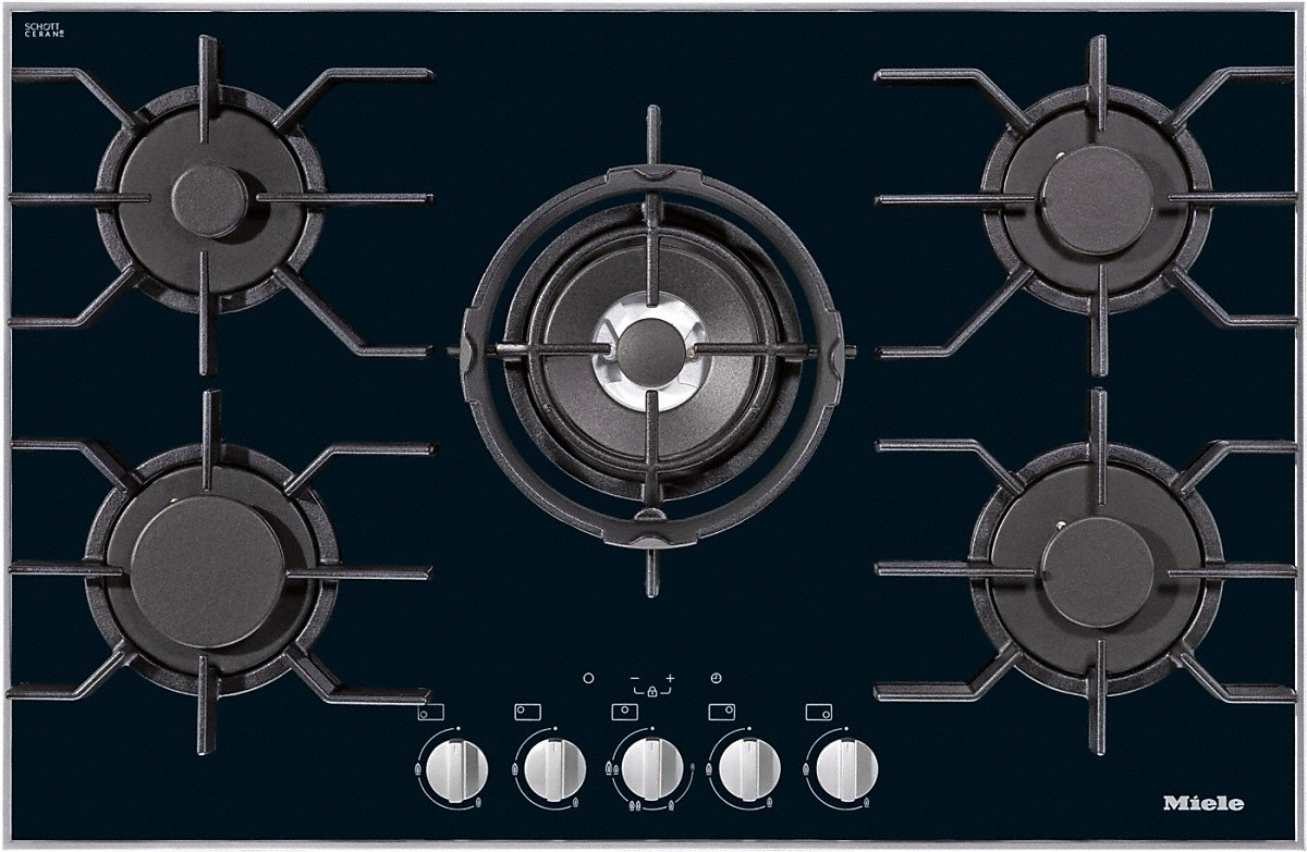 Miele Hobs and CombiSets  KM 3034 Gas hob -> Plyta Gazowa Mastercook Safety Control
