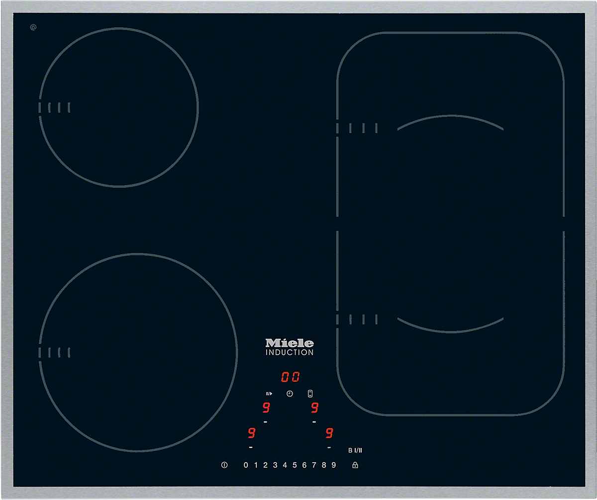 km induction hob onset controls hobs and combisets km 6322 induction hob onset controls powerflex cooking zone for maximum versatility and