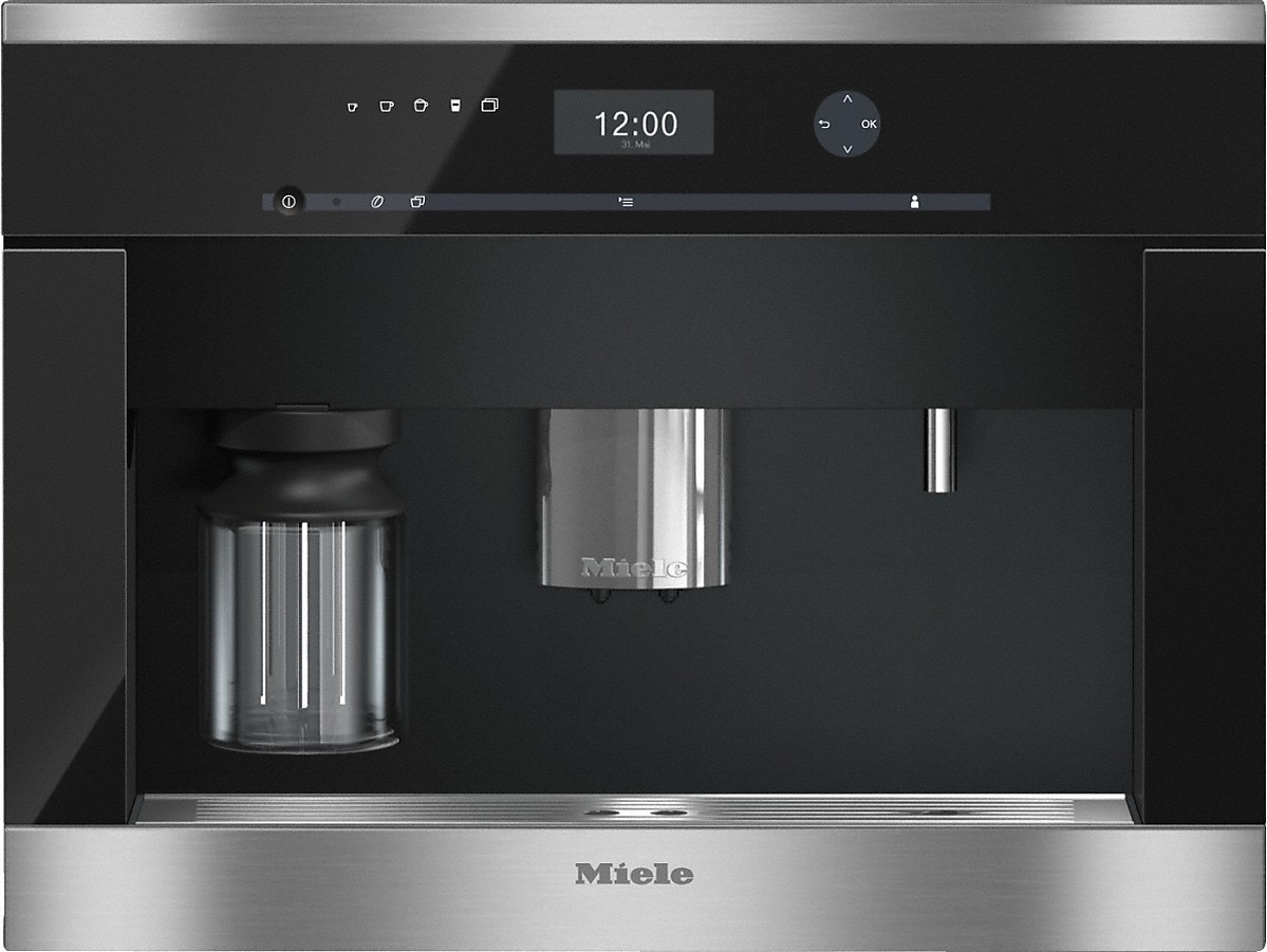 Image result for CVA 6405 Built-in coffee machine with bean-to cup system and One Touch for Two prep. for perfect coffee enjoyment.